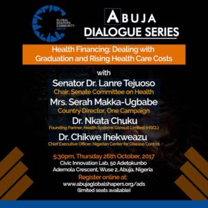 Abuja Dialogue Series – Health Financing in Nigeria