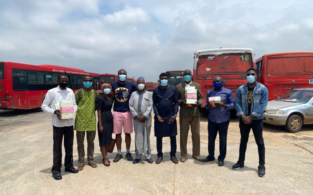 ABUJA GLOBAL SHAPERS PARTNERS HONG KONG CHARITY TO DISTRIBUTE MASKS TO HOSPITAL, MOTOR PARK.